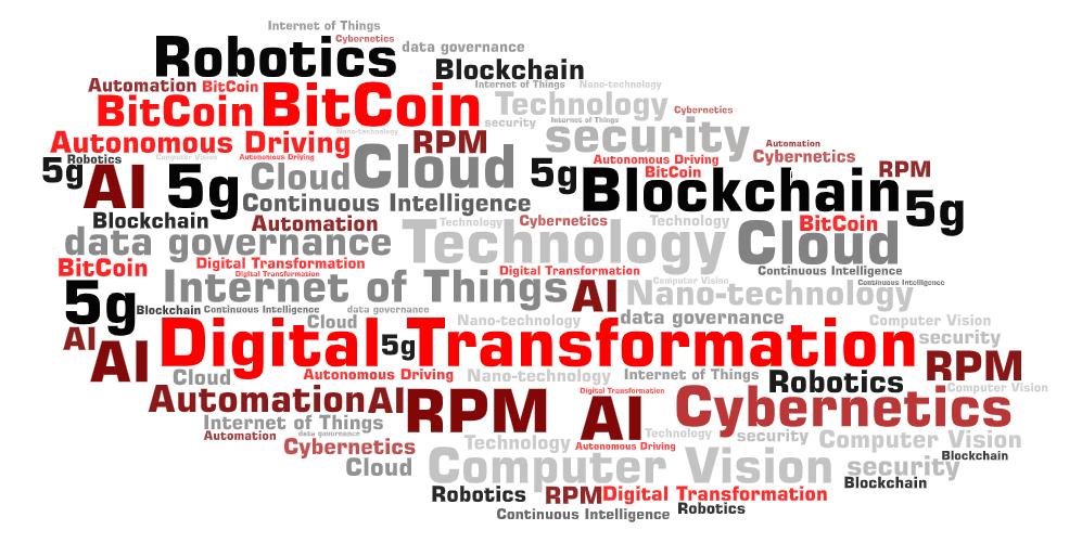 tech buzzwords word cloud