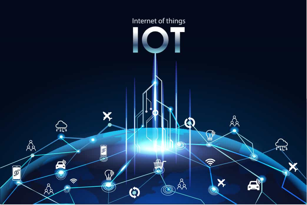 Worldwide Devices Connected by Internet of Things