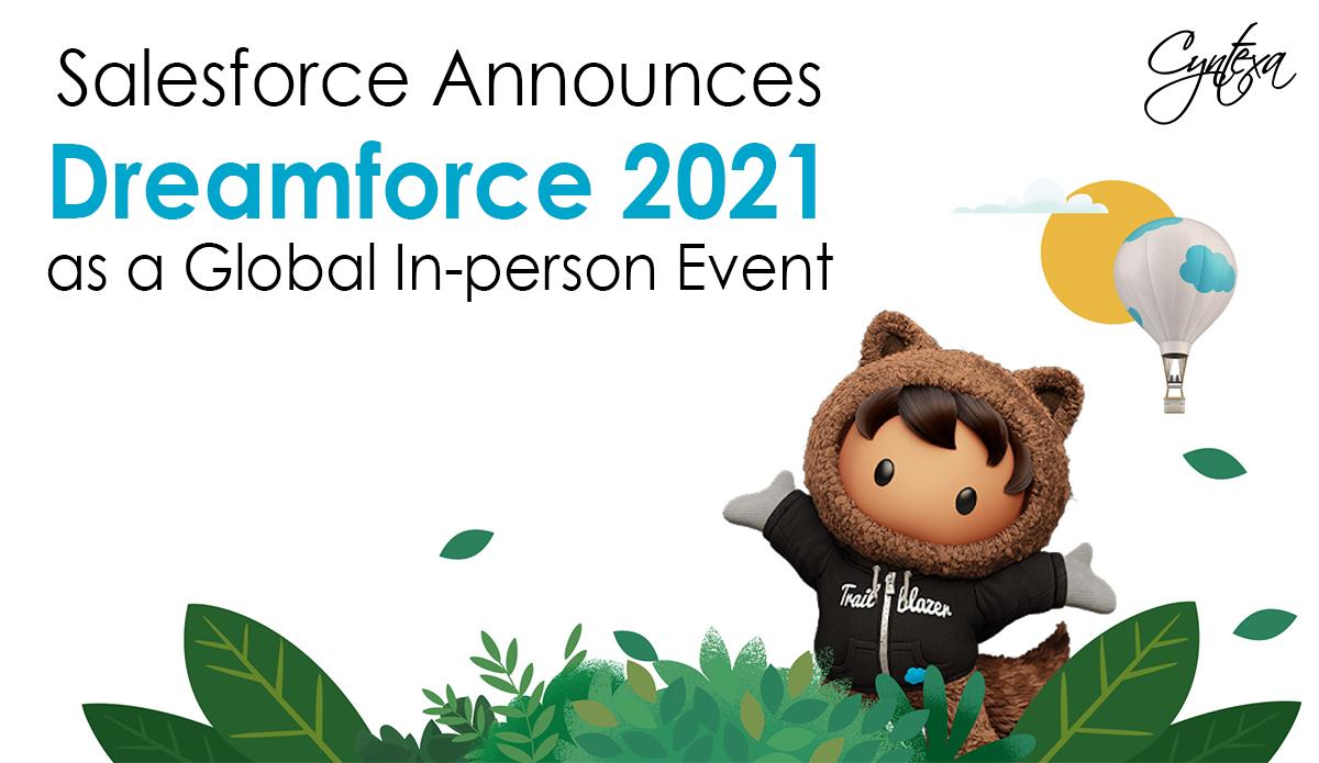 Dreamforce Logo with announcment